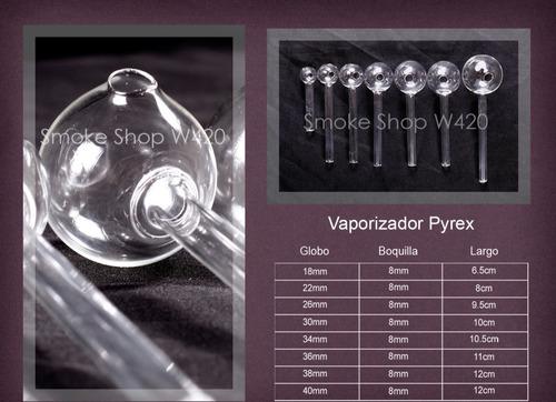 pipas de cristal 100 piezas de 34mm