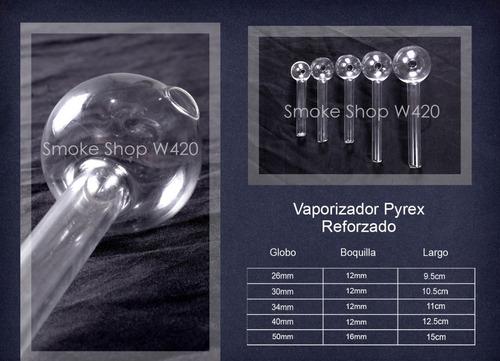 pipas de cristal payrex 50 reforzadas 30mm