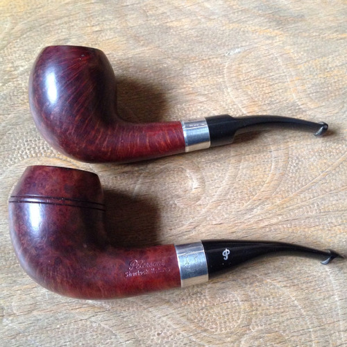 pipas de madera brezo de colección marca peterson de ireland