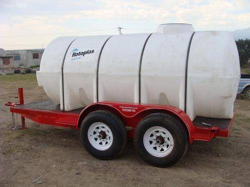 pipas para agua  5000 lts. nuevos con serie nacionales