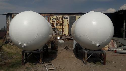 pipas (tanques de gas lp de 12.500 lts.)