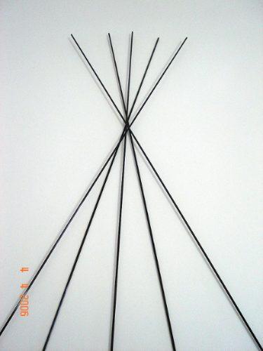 pipas - tubos e varetas em fibra de carbôno