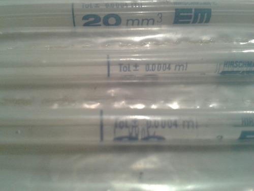pipeta de shali 20mm3