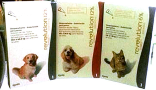 pipeta revolution perro 5 kg anti pulga garrapata sarna