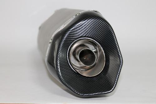 pipeta/exosto  aluminio punta carbono 300