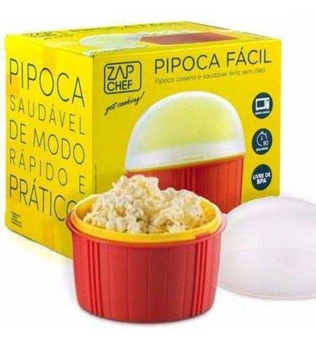 pipoca fácil para microondas zap chef  dtc