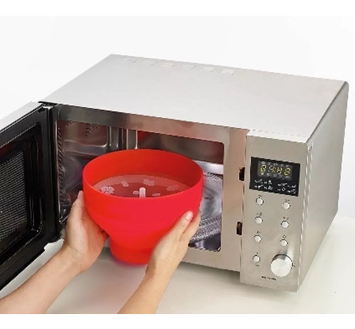 pipoqueira para micro-ondas de silicone - prana