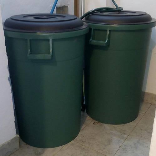 pipotes 150 litros para almacenar agua o basura