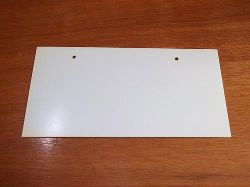 pique mundial mexico 86  lamina tipo placa para auto de pvc