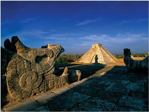 pirámide chichen itza méxico rompecabezas 1000 piezas rommex