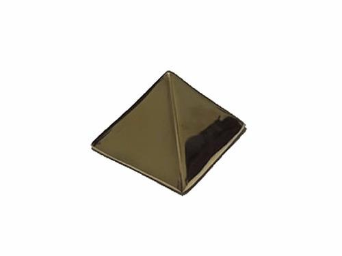 piramide de bronce para guardar deseos chica