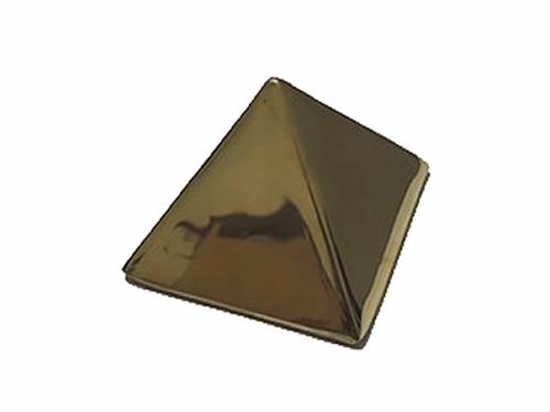 piramide de bronce para guardar deseos grande reiki meditaci