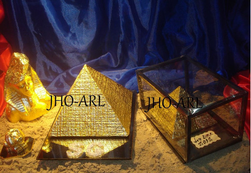 piramides grandes  para regalar o decorar tu living