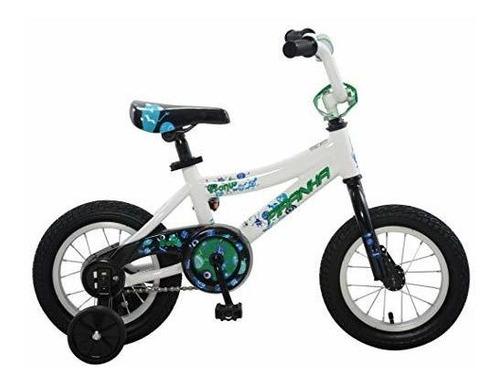 piraña pi1206-2-jv pronto - bicicleta de 12 niños color azul