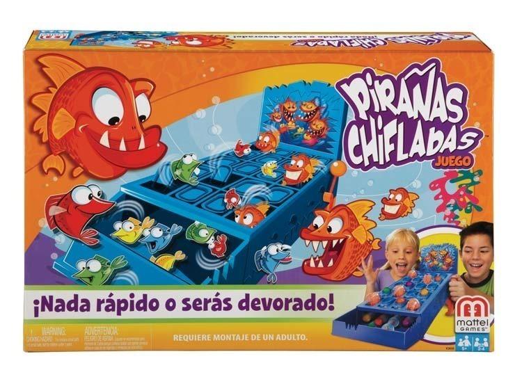 Piranas Chifladas Juego De Mesa Mattel Envio Gratis 599 00 En