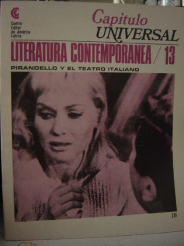 pirandello y el teatro italiano. literatura contemporanea