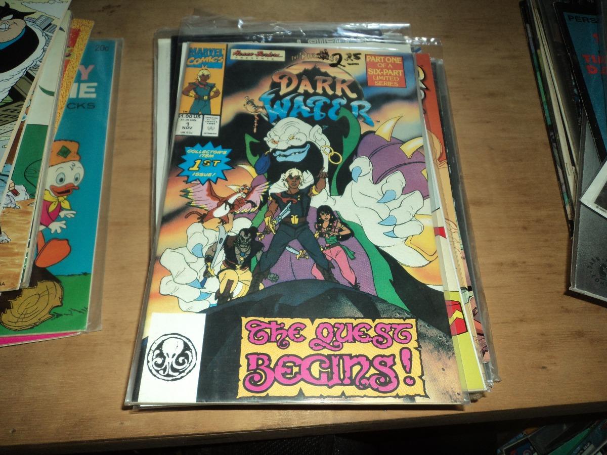 Piratas Dark Water N 1 Gibi Do Desenho Animado Anos 80