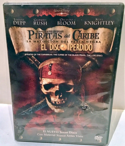 piratas del caribe cap jack sparrow figura de neca + dvd