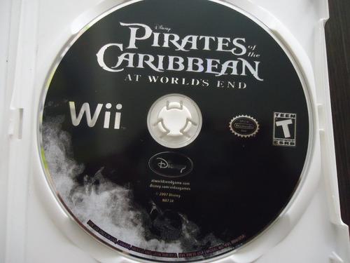 piratas del caribe nintendo wii