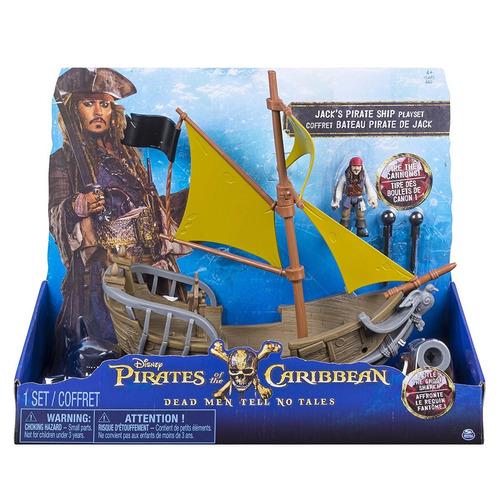 piratas del caribe set barco pirata de jack pelicula disney
