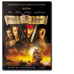 piratas do caribe a maldição do pérola negra dvd duplo
