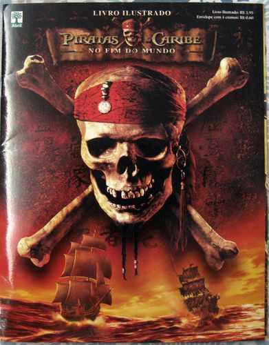 piratas do caribe disney album de figurinhas completo