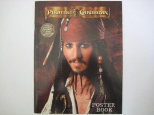 piratas do caribe livro poster com 8 cartões postais