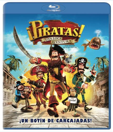piratas  una loca aventura  bluray nuevo original sellado