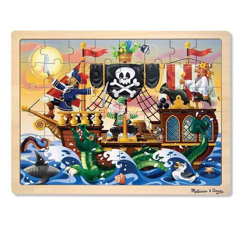 pirate adventure jigsaw 48 pc