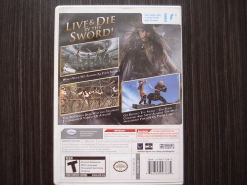 pirates of the caribbean at worlds endnintendo wii y wii u