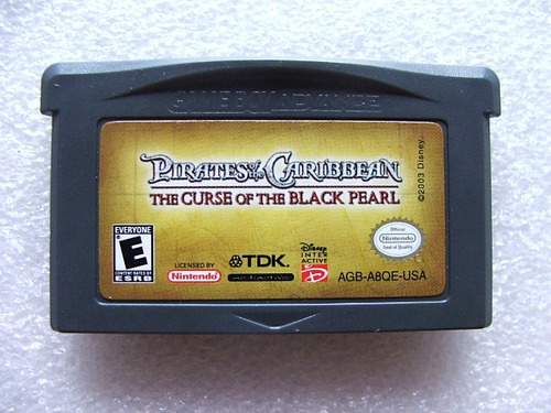 pirates of the caribbean the curse of the black pearl gba