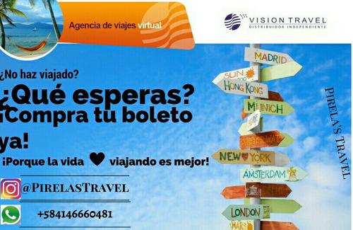 pirela's travel. ¡boletos aéreos nacional e internacional!¿
