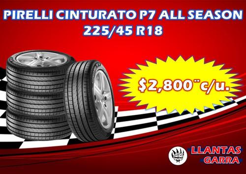 pirelli cinturato p7  225/45 r18 al mejor precio