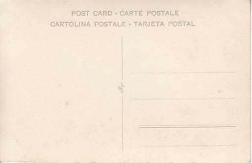piriapolis antigua fotografia postal ante el hotel colonial