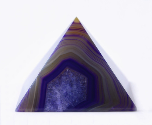 pirâmide em ágata - e71