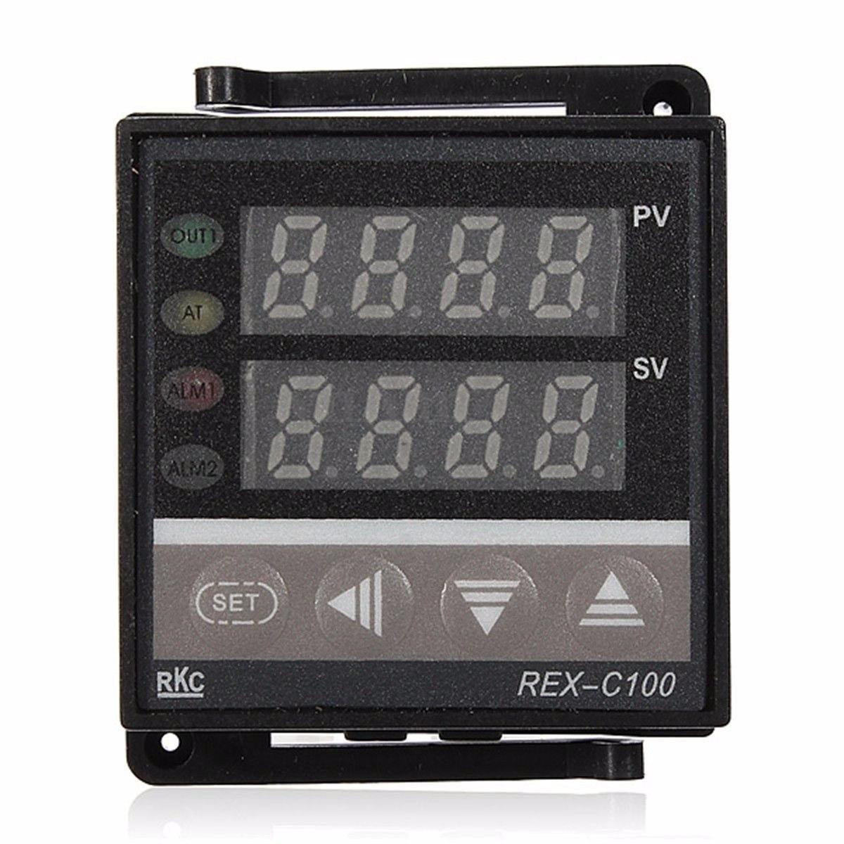 Pirometro Control De Temperatura Pid Rex