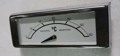 pirometro para horno rectangular con marco 350º