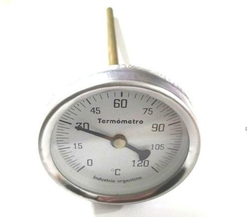 pirómetro termómetro freidora / olla cervecera 120° vaina