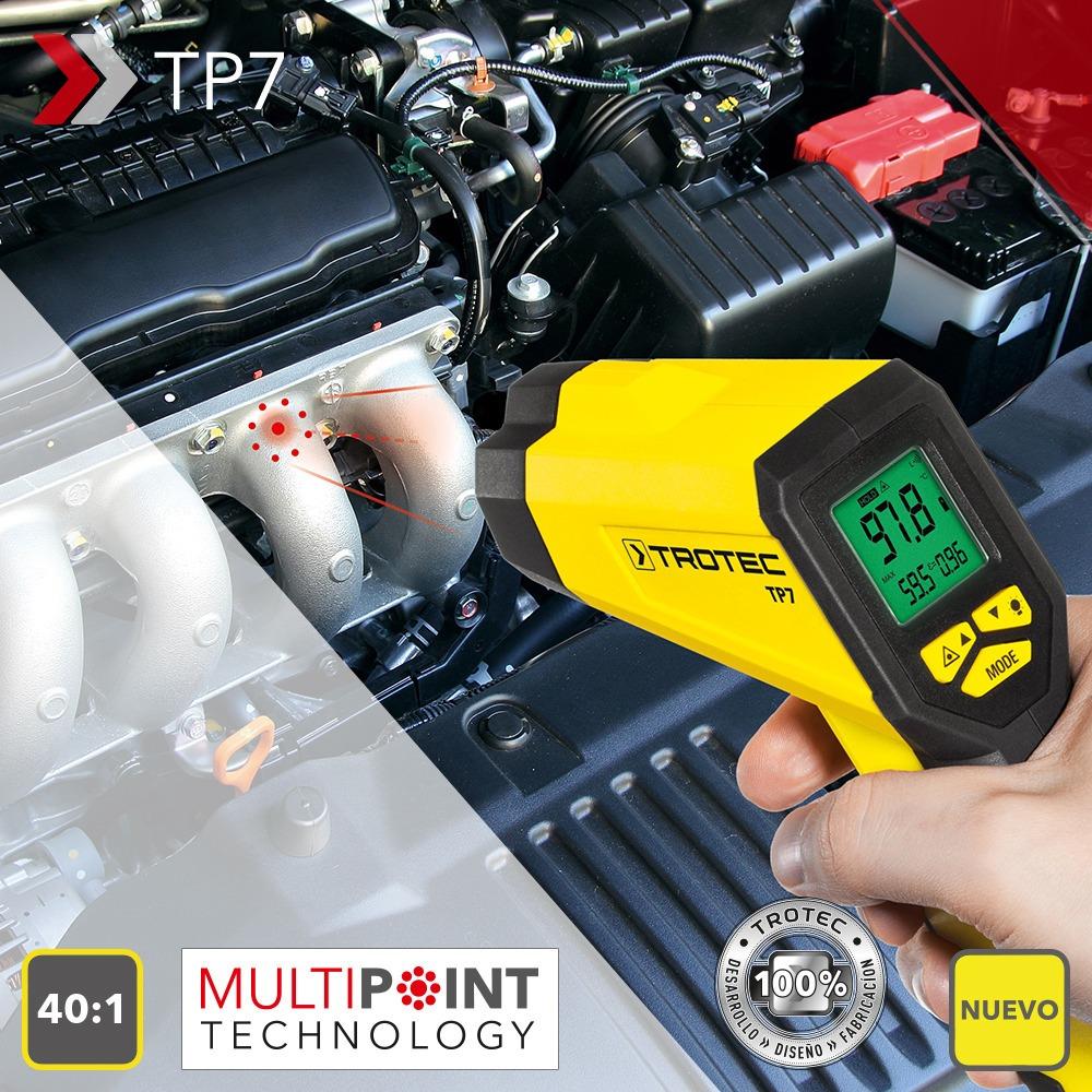 TROTEC Term/ómetro Infrarrojo//Pir/ómetro TP7 Multipoint L/áser