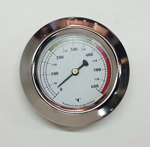 pirometro - termometro para horno de barro - 600°