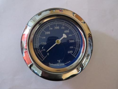 pirometro termometro para puerta de horno de barro, pizzero