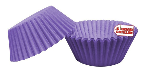 pirotines cupcakes colores lisos varios x15 u - cc