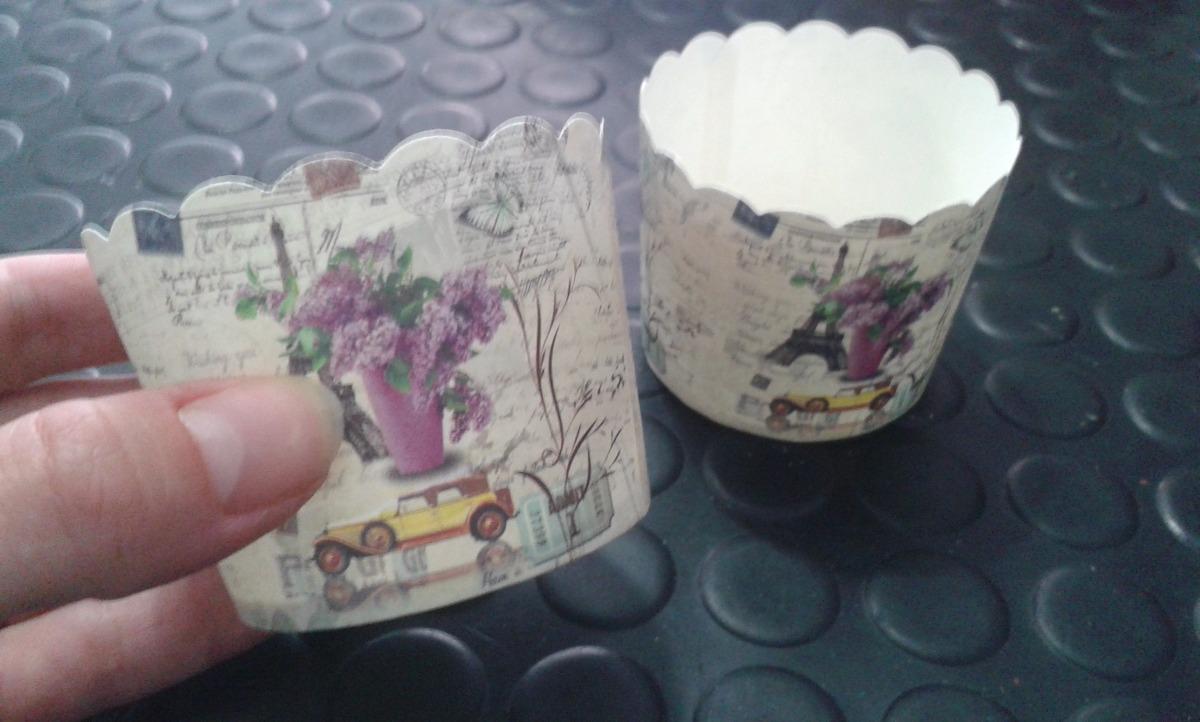 pirotines paquete 20 unidades duritos lila vintage