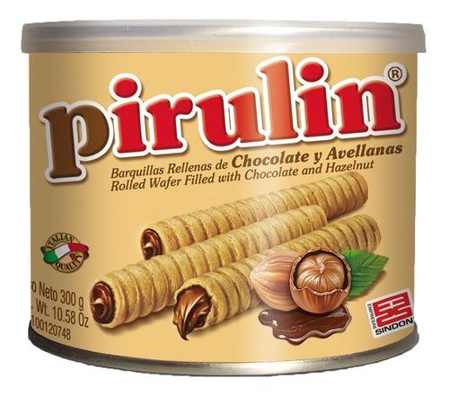 pirulin chocolate lata/envase 300g
