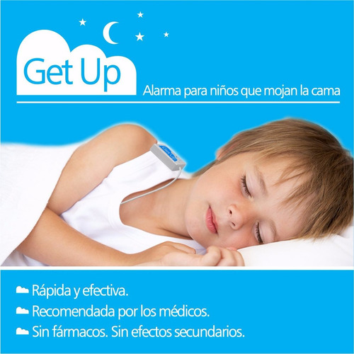 pis en la cama - alarma get up para enuresis