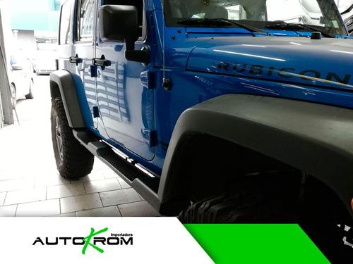 pisaderas estribos jeep wrangler negras 2008-19 oferta