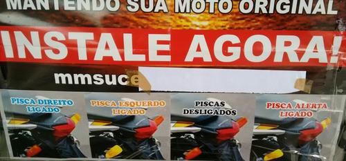 pisca alerta para motos esse preço só na madrugada hoje