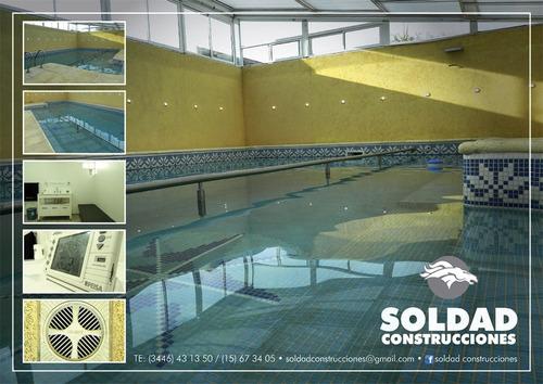 piscina 100% hormigon