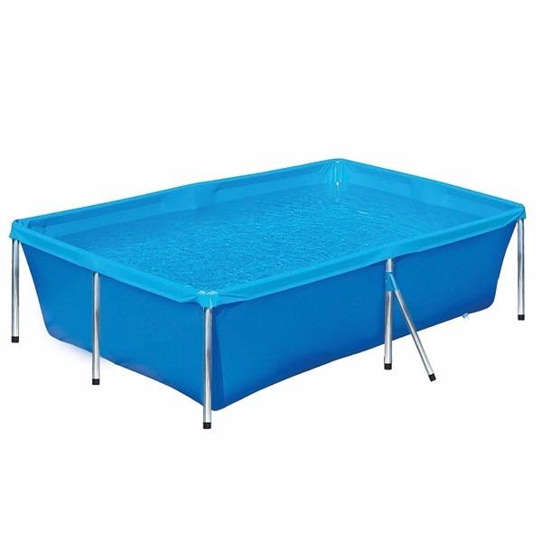 Piscina 1000 litros plastico lona estruturada retan for Calcular litros piscina