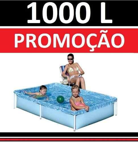 Piscina 1000 litros playground piscinas vinil pequena for Piscina 30 mil litros
